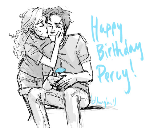 Happy Birthday Percy Jackson Annabeth Chase Heroes of Olympus