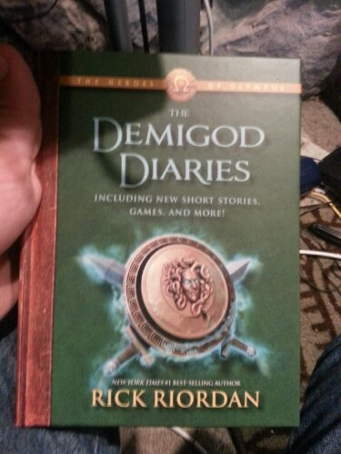 the demigod diaries percy jackson fandom