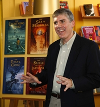 Rick Riordan author Percy Jackson Heroes of Olympus