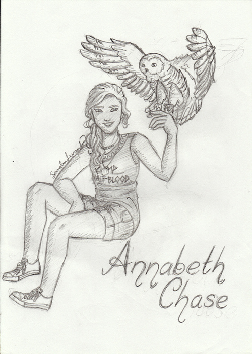 Annabeth Chase Percy Jackson Heroes of Olympus fan art