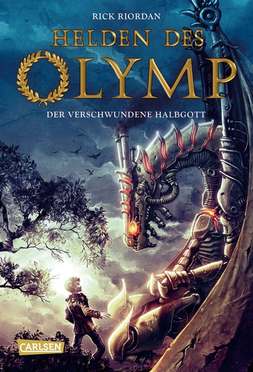The Heroes of Oylmpus The Lost Hero German Cover Leo Valdez Rick Riordan