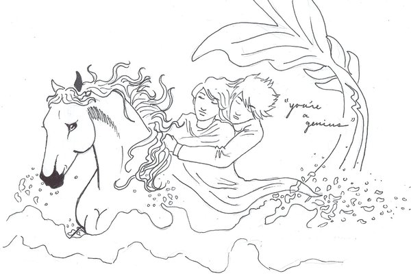 camp half blood coloring pages - photo#8