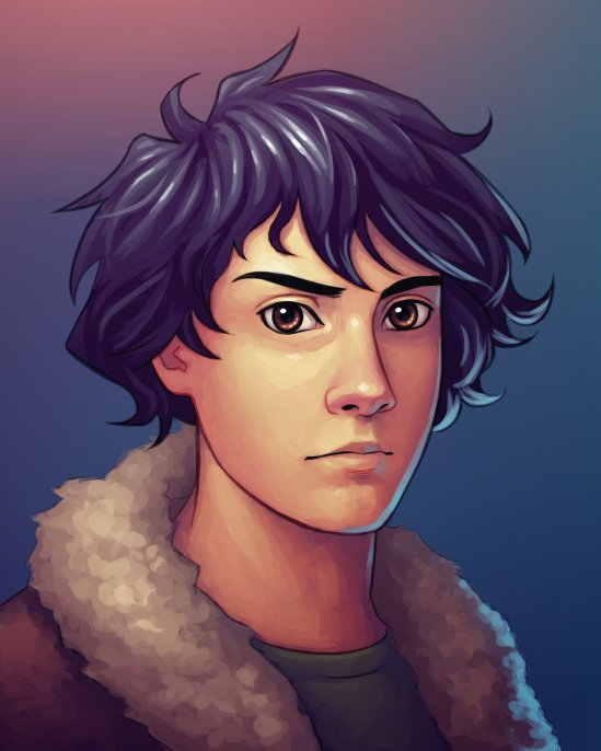 Fan Art of the Day: Nico Di Angelo