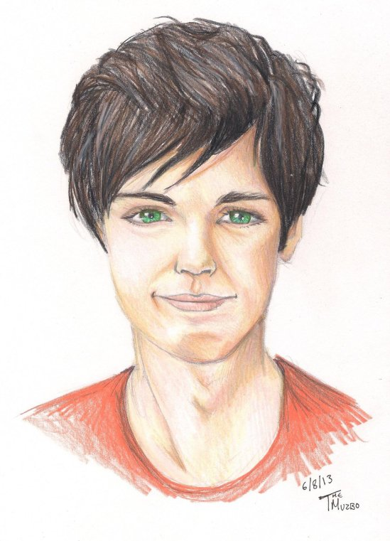 Fan Art of the Day: Percy Jackson